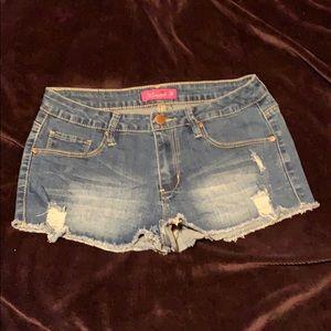 K's More Denim Shorts